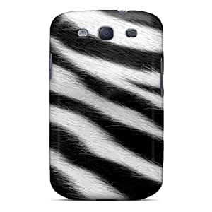 TtrLSVW3973WonQI Tpu Phone Case With Fashionable Look For Galaxy S3 - Zebra Fur