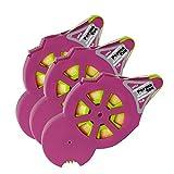 Glue Arts 1/4-Inch by 40-Feet Glue Glider Pro Refill Cartridge, 3 Per Pack