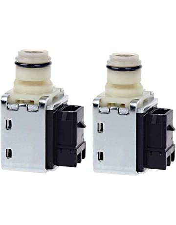 4L60E Transmission Shift Solenoid Valve Set for GM Chevrolet Buick Transmission 1-2 2-