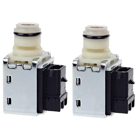 amazon com 4l60e transmission shift solenoid valve set for gm Shift Solenoid 2004 Chevy Truck amazon com 4l60e transmission shift solenoid valve set for gm chevrolet buick transmission 1 2 2 3 a \u0026 b shift replace 24230298 oem (2pcs) by topemai