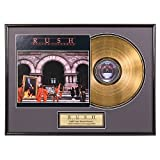 "Rush ""Moving Pictures"" limited edition framed gold record"