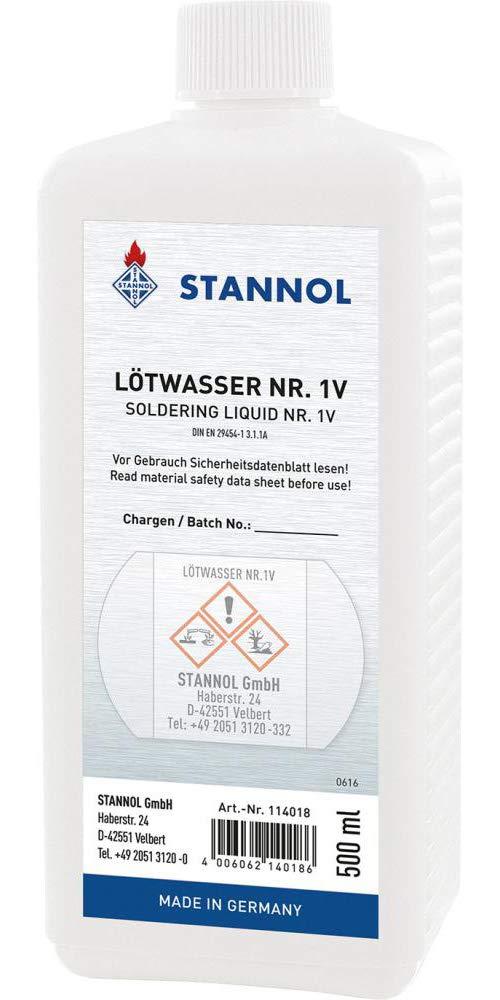 Stannol 0007691890500 Agua soldar 500 ml: Amazon.es: Industria, empresas y ciencia