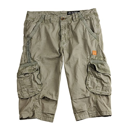 4 Alpha Imperial Corto Light Pantalón Cargo Industries Olive 3 ttUwqnPv