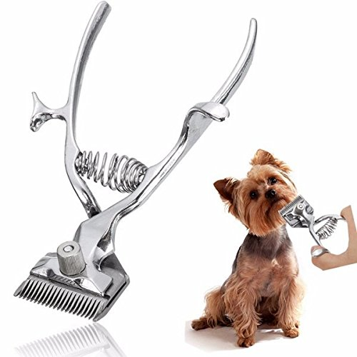 Hiquty Professional Kit Animal Pet Cat Dog Hair Trimmer Shaver Razor Grooming (Lfe Kit)