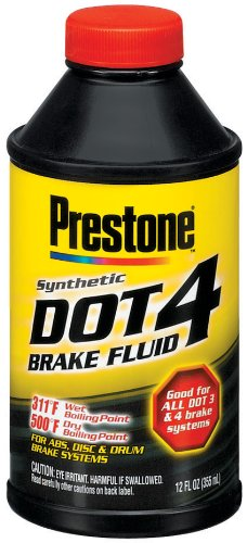 Prestone AS800P Dot 4 Brake Fluid - 12 oz.