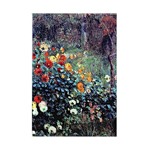Rectangle Magnet Garden (CafePress - Renoir: Garden In The Rue Cortot - Rectangle Magnet, 2