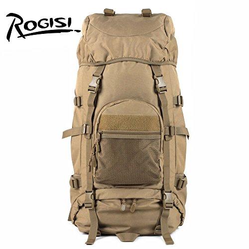 HYSXM Mountaineering Bag Outdoor Freizeitaktivitäten leichtes Wandern Bergsteigen floding Paket Wasserdicht Großes Fassungsvermögen Haut Taschen