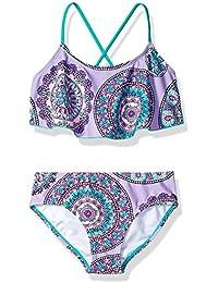 5a731fc200 Girls' Alania Flounce Bikini Beach Sport 2-Piece Swimsuit