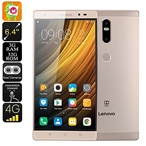 Lenovo Phab 2 Plus Android Smartphone - Android 6 0, 6 44 Inch FHD
