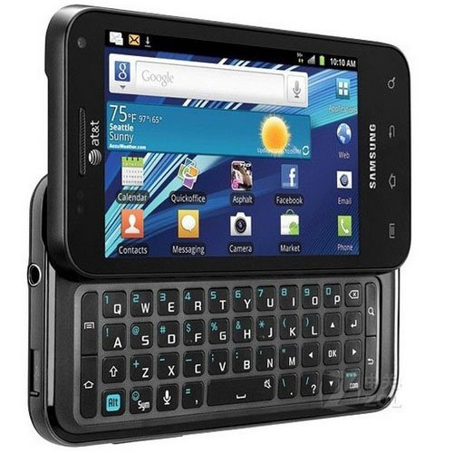 amazon com samsung i927 captivate glide at t 3g 4g unlocked for any rh amazon com Samsung Captivate Glide Release Date Samsung Galaxy Exhilarate