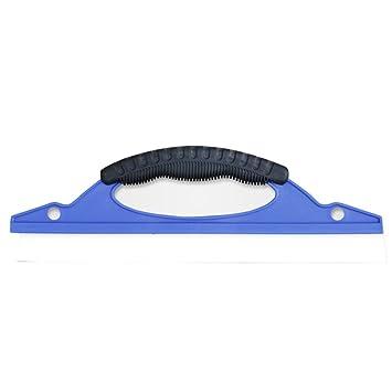 Raclette de secado de silicona - Escobilla para limpiaparabrisas restauradora coche del agua limpieza para parabrisas/ventanas/espejos/puertas/: Amazon.es: ...