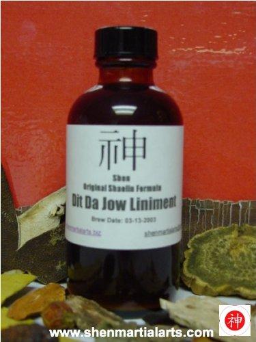 Shen Dit Da Jow - 2 oz Bottle (Liniment Bottle)