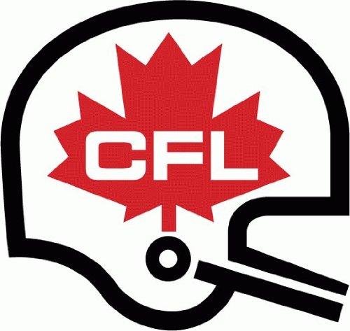 "CFL Canada Football Bumper Sticker 5"" x 5"""