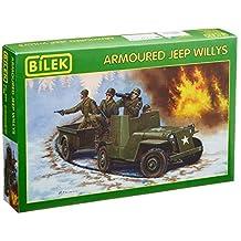 1/35 Armored Jeep Willis Plastic