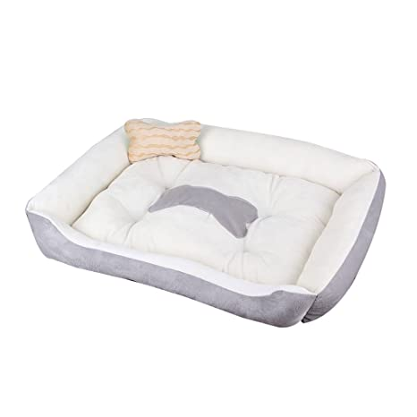 Perro pequeño Tamaño mediano Alfombra para perros grande Perrera Cuatro estaciones Lobos para mascotas Suministros para