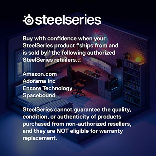 SteelSeries Apex Pro Mechanical Gaming Keyboard – Adjustable Actuation Switches – World's Fastest Mechanical Keyboard – OLED Smart Display – RGB Backlit