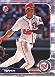 2019 Bowman Baseball #92 Juan Soto Washington Nationals Official MLB Trading Card From Topps