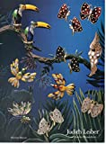 Magazine Print Ad: 1996 Judith Leiber on Madison, Luxe Jewelry Minaudieres Brooches Hummingbird, Dragonfly, Toucan, 2 page