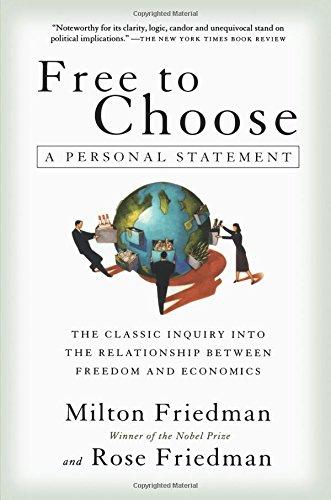 Free Choose Statement Milton Friedman product image