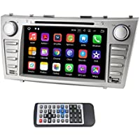 QSICISL 8 inch Android 7.1 Quad Core 16GB HD Digital Toyota Camry 2007 2008 2009 2010 2011 In dash Car Radio Stereo 2 Din Touch Screen GPS navigation with wifi bluetooth