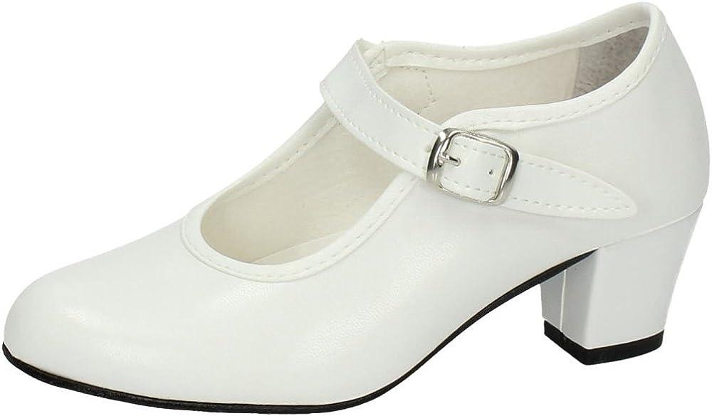 MADE IN SPAIN 15 SEVILLANAS FLAMENCOS NIÑA Zapatos TACÓN