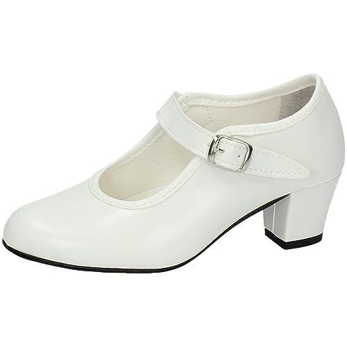 Chaussures De Flamenco Pour Les Enfants, Les Bébés Et Les Tout-petits, La Couleur, La Taille 27.5 Eu