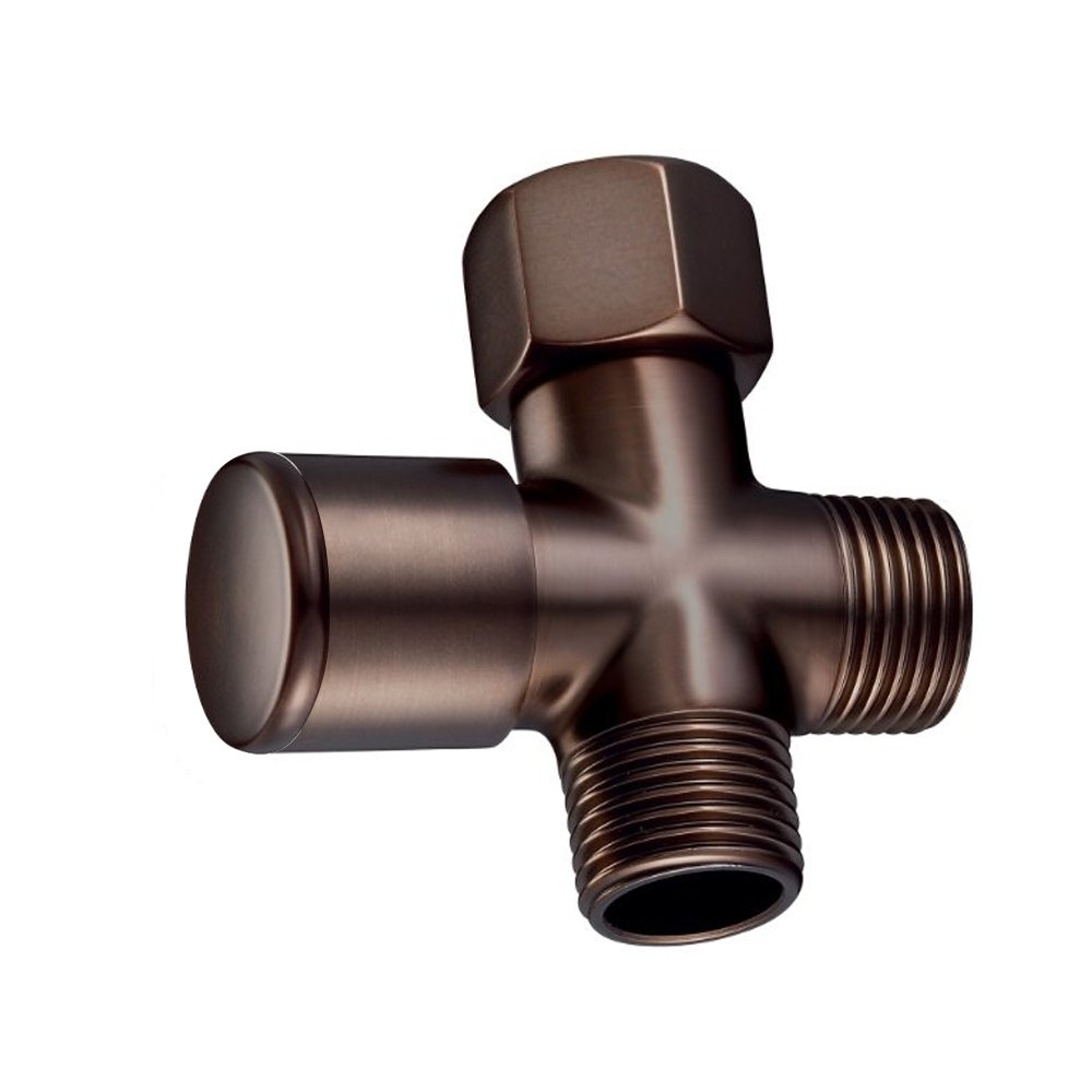 Westbrass R348-12 1/2-Inch IPS Diverter Valve for Shower Arm, Oil Rubbed Bronze