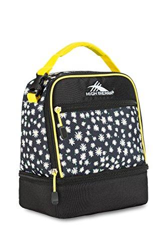 high-sierra-stacked-compartment-lunch-bag-daisies-black-sunburst