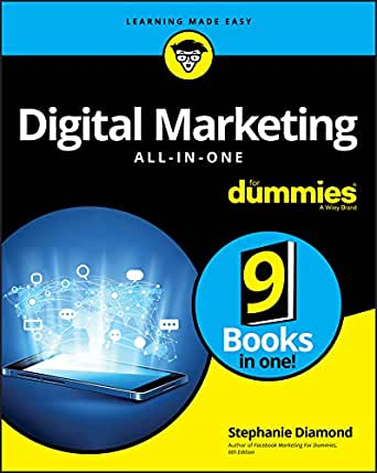 Image result for Digital Marketing All-in-One for Dummies