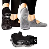 Best Barre Socks - LA Active Grip Socks - Yoga Pilates Barre Review
