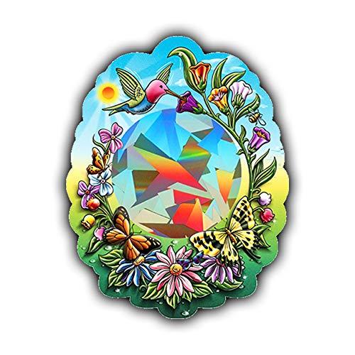 Rainbow Symphony Rainbow Sun Catchers - Hummingbird Sun Catcher - Holographic Rainbow Makers