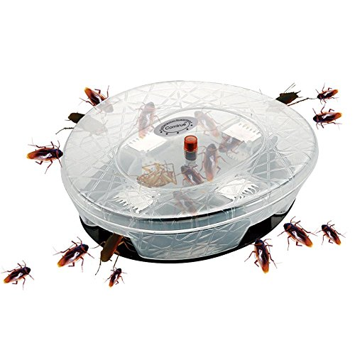 Roach Trap, Cockroach Trap, Cockroach Killer, Roach Killer, Roach Holder, Reusable, Non-Toxic and Eco-Friendly