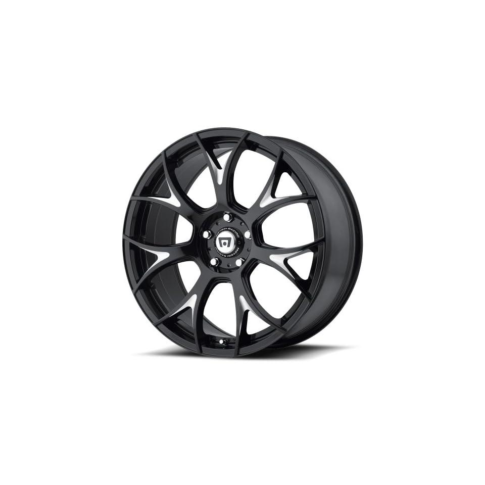 Motegi MR126 20 Black Wheel / Rim 5x4.5 with a 38mm Offset and a 72.6 Hub Bore. Partnumber MR12628512338 Automotive