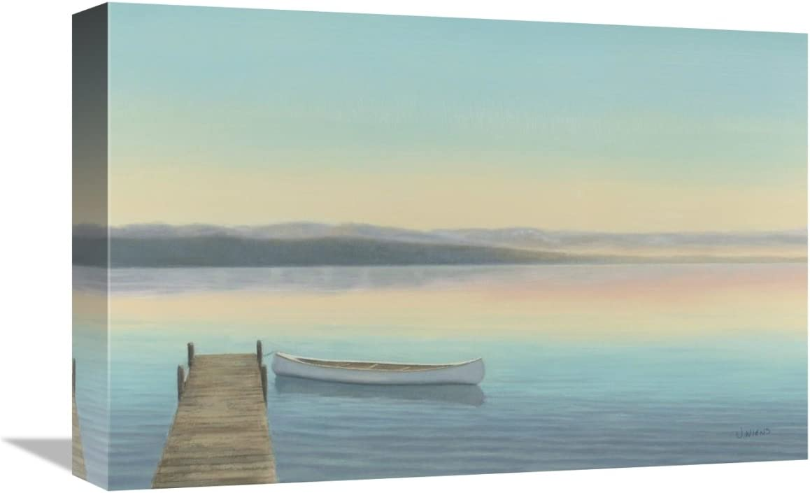 Zen Canoe I Giclee Stretched Canvas Artwork 30 x 20 Global Gallery James Wiens