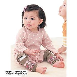 CMK Trendy Kids 6 Pairs Baby Leg Warmers Leggings Kneepads...