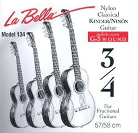 CUERDAS GUITARRA CLASICA - La Bella (FG/134) Guitarra Cadete ...
