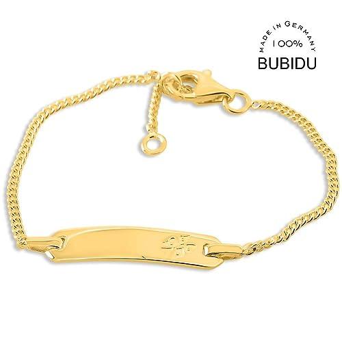 Id Babyarmband Taufarmband Gravur Taufe 925 Silber Gold