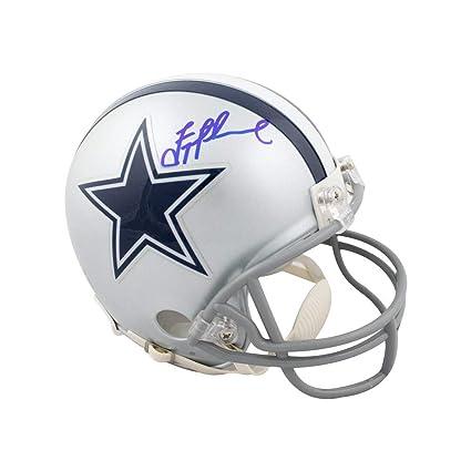 official photos 6ecf5 7cb60 Amazon.com: Troy Aikman Autographed Dallas Cowboys Mini ...