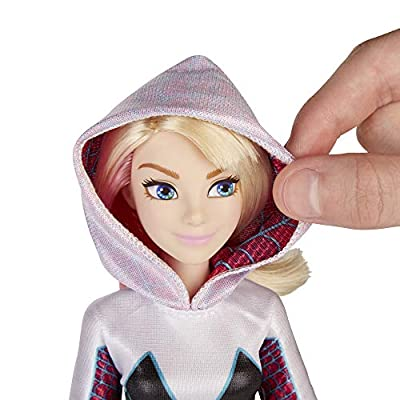 Marvel Rising Gwen Stacy (Ghost-Spider) Secret Identity Doll: Toys & Games