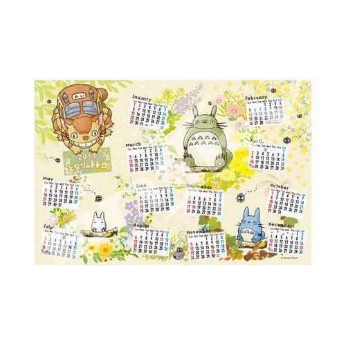 1000 piece jigsaw puzzle My Neighbor TotGold 2017 Calendar Jigsaw Jigsaw Jigsaw (50x75cm) 01b521