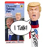 "Donald Trump Talking Pen(TM) - Says ""You're Fired"" - Trump's Actual Voice - Put ""The Donald"" To Work For You -Great Office Gag - High Quality Audio - Funny Novelty Gift for Republicans or Democrats"