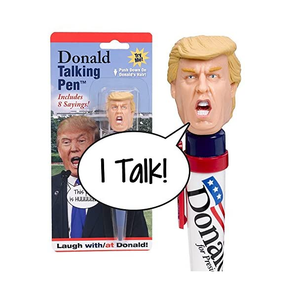 Donald-Trump-Talking-PenTM-Says-Youre-Fired-Trumps-Actual-Voice-Put-The-Donald-To-Work-For-You-Great-Office-Gag-High-Quality-Audio-Funny-Novelty-Gift-for-Republicans-or-Democrats