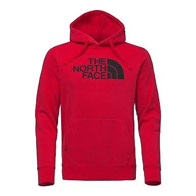e6f1b0fb6 The North Face Men's Slim Half Dome Pullover Hoodie - TNF Red & TNF Black -