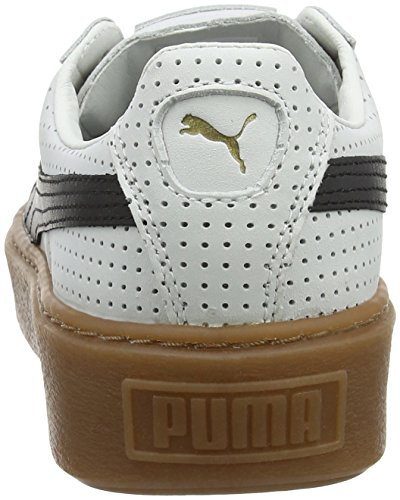 White Blanc Basses Perf Gum puma gold Puma Sneakers Black Platform Basket Femme puma zqUxnCfp