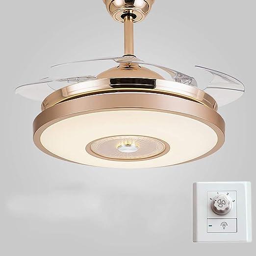 Ventilador De Techo con Luces Ventilador Invisible con
