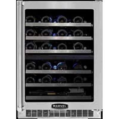 Marvel MPRO6DZE-BS-LR 24-Inch Professional Dual Zone Wine Cellar
