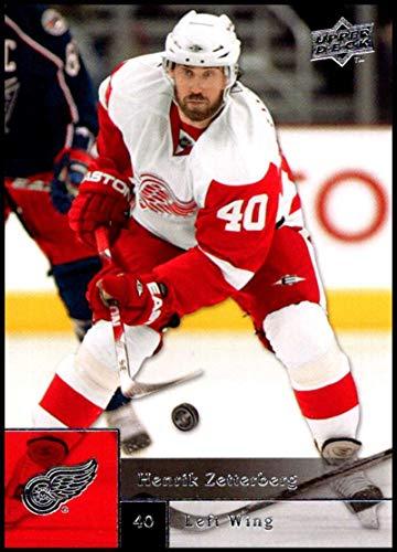 2009-10 Upper Deck #370 Henrik Zetterberg NM-MT Detroit Red Wings Official NHL Hockey Card