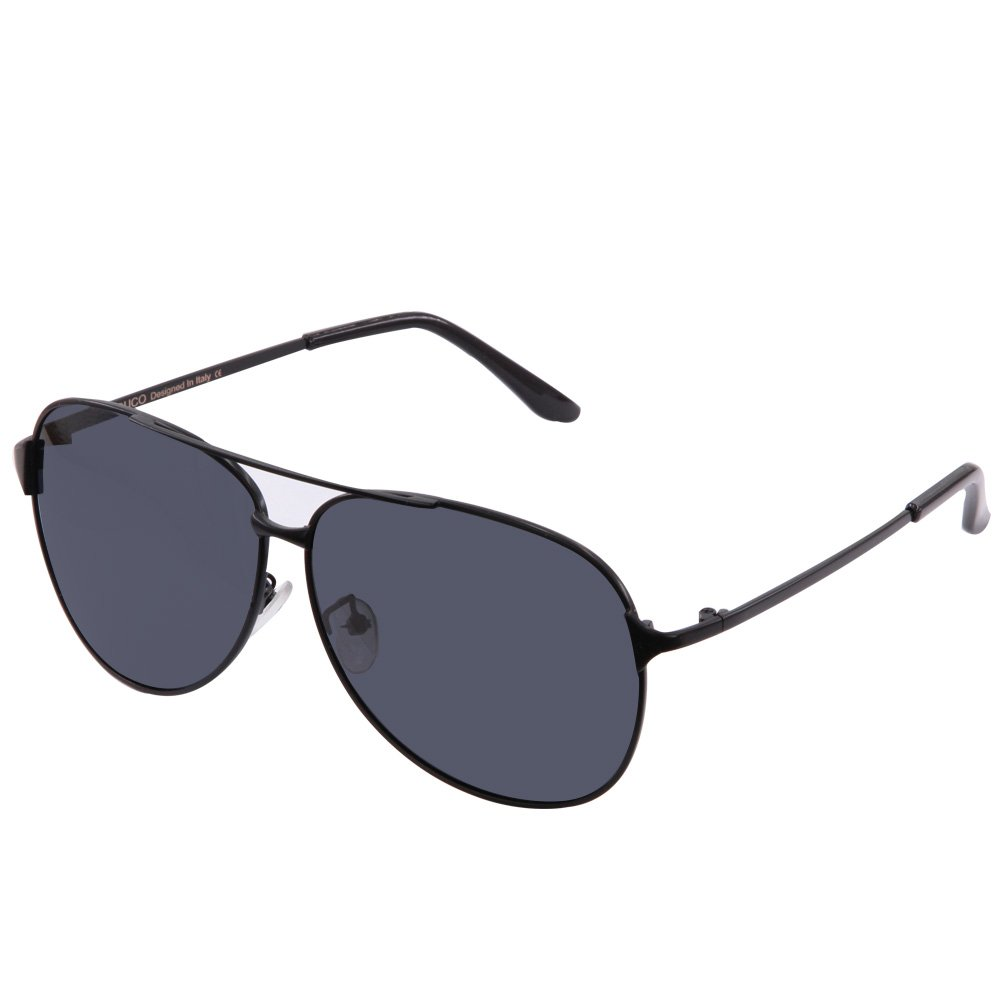 Duco Pilot Style Mirrored Polarized Sunglasses UV400 Men And Women 8009 by DUCO