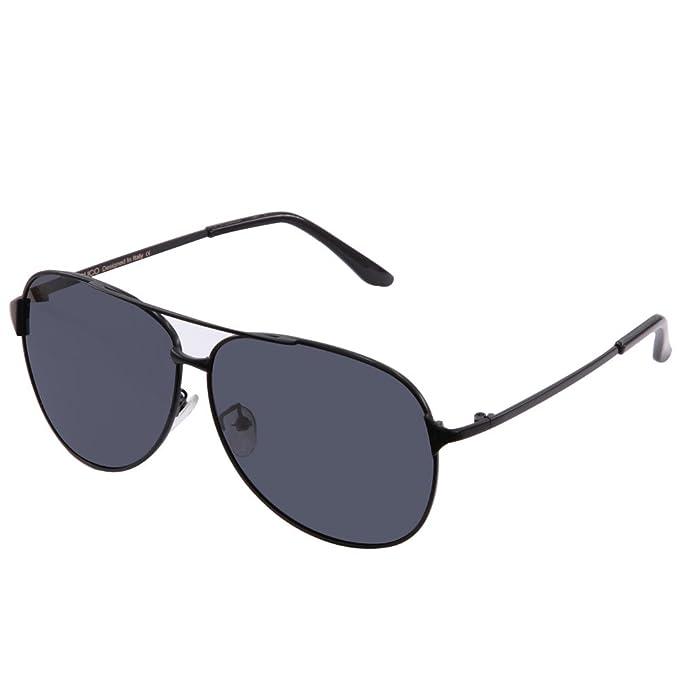 DUCO 8009 Gafas de Aviador Gafas de Sol 100% Proteción UV ...