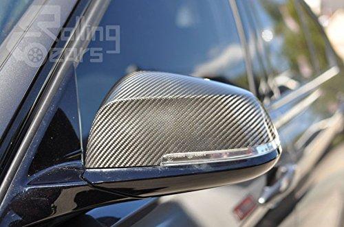 Rolling Gears F30 Kohlefaser Seitent/ür Spiegelabdeckung Ersatz